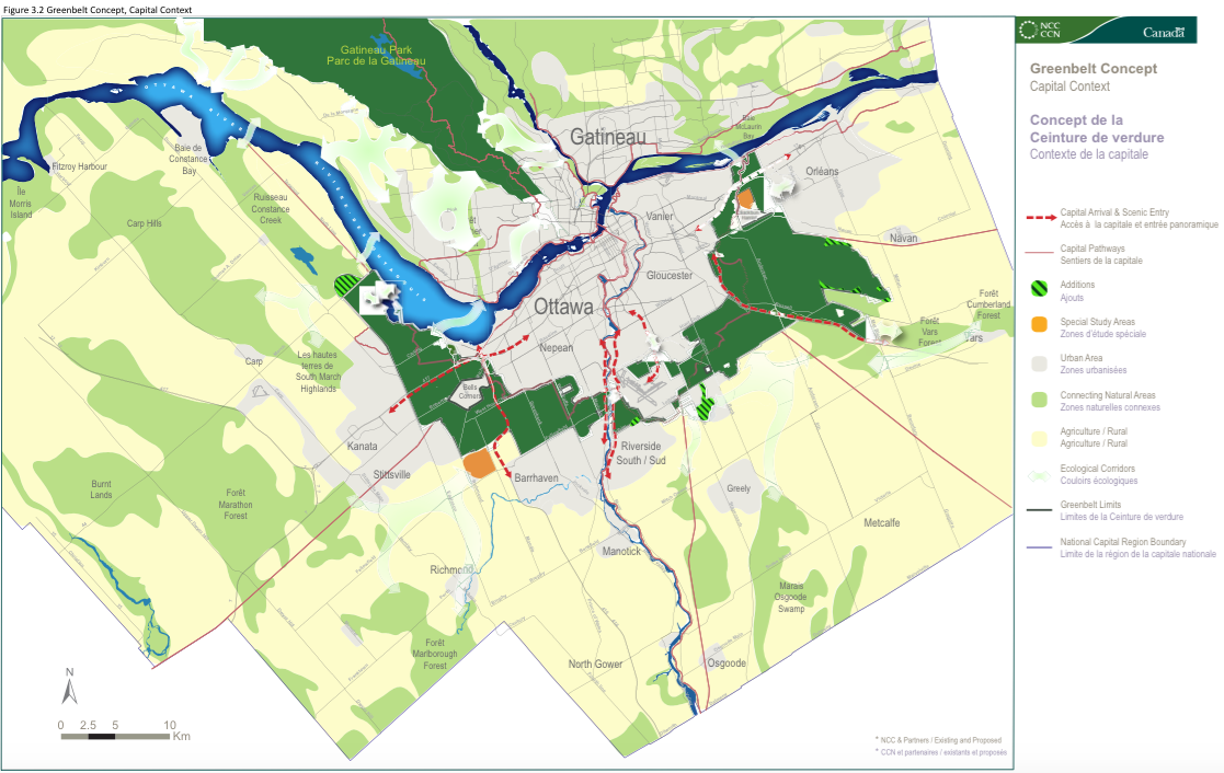 Canada's Capital Greenbelt Masterplan Figure 3.2