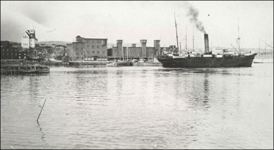 View of Port Union from the Harbour, n.d. Sir William F. Coaker Foundation Collection, Memorial University Maritime History Archive. https://www.mun.ca/mha/fpu/fpu-images-larger-version.php?img=fpu/0age00ec&galleryID=dis4