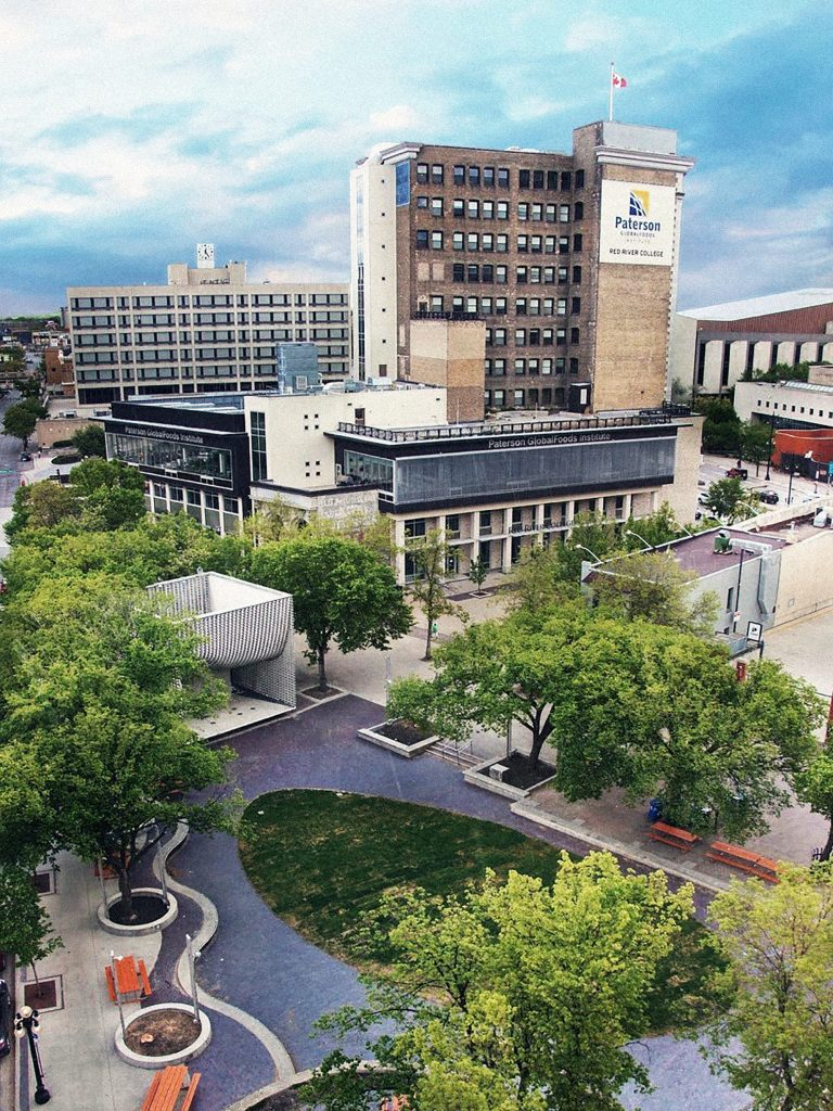 Paterson GlobalFoods Institute and Old Market Square [@gmerk]