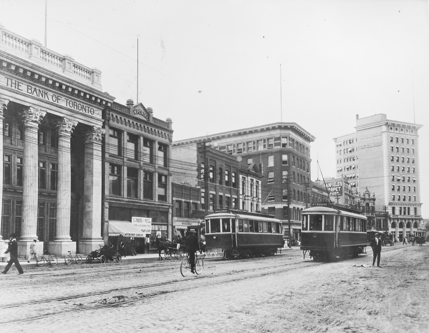 Union Bank Building, 1907 (Archives of MB)