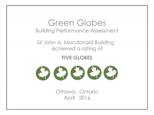 Federal Greening of Former Bank – Sustainable Heritage Case